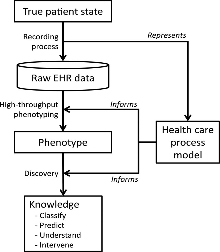 Electronic Health Records Based Phenotyping Rethinking