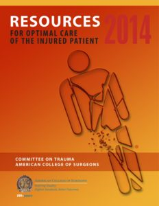 Resources for Optimal Care of the Injured Patient (2014)