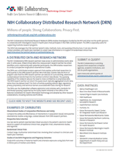 NIH Collaboratory DRN Handout